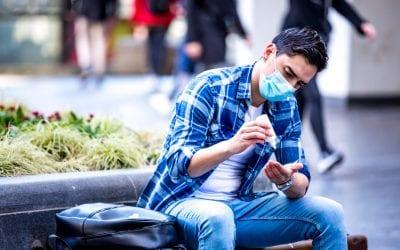 Avoid dry skin after hand sanitiser